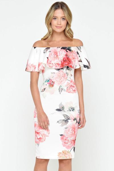 2. Ruffle dress