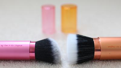 Blush Atau Bronzer Brush