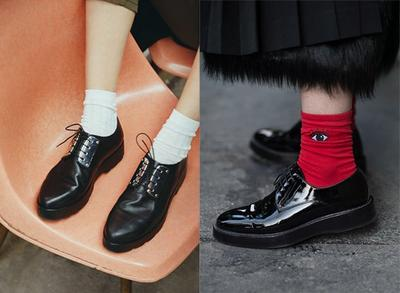 Kaos Kaki dan Oxford Shoes