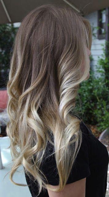 Brown to Blonde Hair