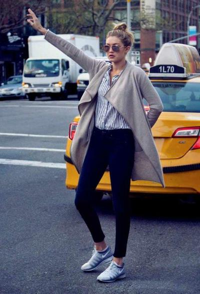 Blouse, Jeans & Outer