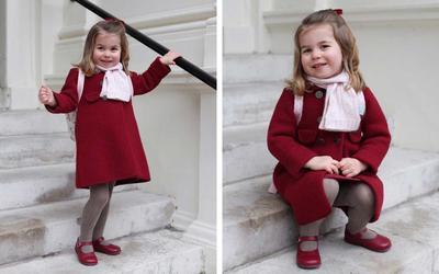 Gemes dan Stylish Banget! Ini Dia Tampilan Princess Charlotte di Hari Pertama Masuk Sekolahnya!