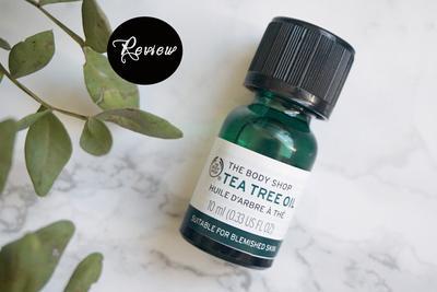 Tea Tree Oil nya The Body Shop Beneran Ampuh Menghilangkan Jerawat Secara Singkat?