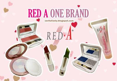 Ada yang masih pakai produk kosmetik dan skincare Red-A??