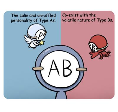 Langka dan Unik, Karakter Ini Cuma Bisa Ditemukan Pada Orang dengan Golongan Darah AB!