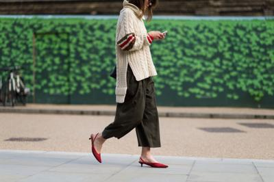 Don'ts: Culottes & Turtleneck Sweater