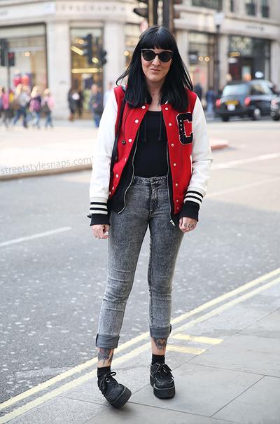 Denim Jeans & Oxford Shoes