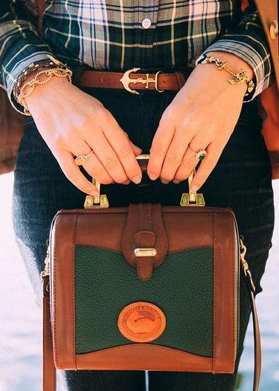 The Vintage Hand Bag