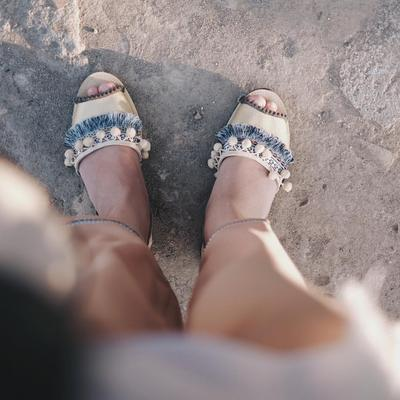 2. Strap Sandals