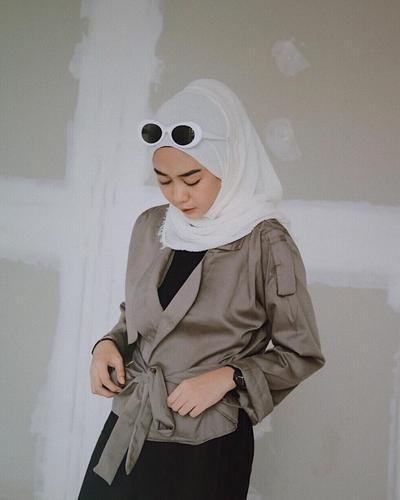 3. Blazer Kimono Top