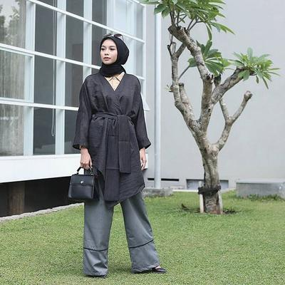 5. Long Kimono Top