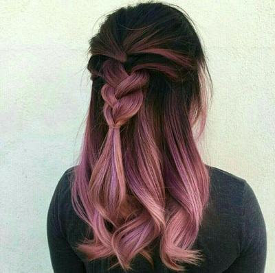 Pale Pinkish Hair