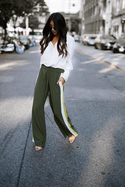 Blouse & Track Pants