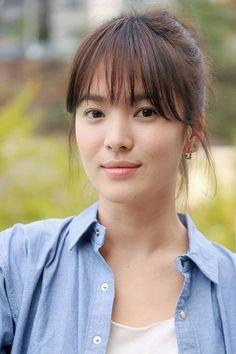 Song Hye Kyo (See Through Bang)