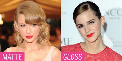 Ladies.. Lipstick Matte VS Glossy, Mana Yang Lebih Kalian Suka??