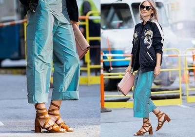 Tiru Yuk, Inspirasi Mix and Match Block Heels dengan Berbagai Outfit Fashion! Bisa Dipakai ke Kampus, Lho!