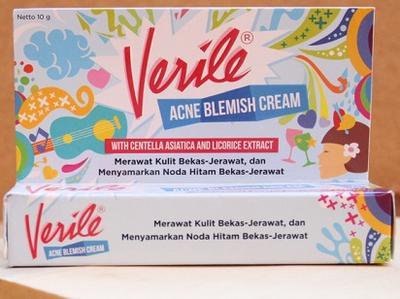 Di Bawah 25K, Verile Acne Blemish Cream Beneran Oke Menghilangkan Jerawat?