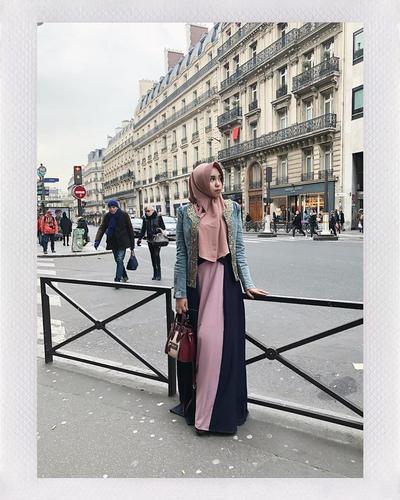Hijab Instan untuk Traveling