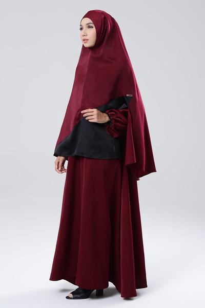 Tetap Fashionable, Begini Tips Mix and Match Gamis untuk Hijabers Syar'i