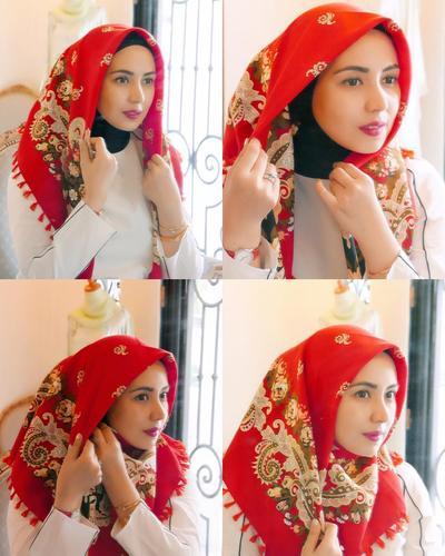 2. Hijab Satu Sisi