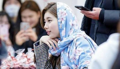 Wow, Suzy Miss A Pakai Hijab Buatan Bandung Lho!