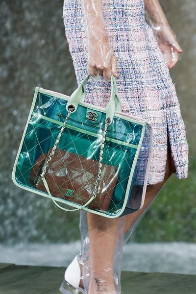 Tas Transparan Koleksi Chanel