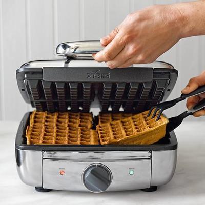 Menggunakan Cetakan Waffle