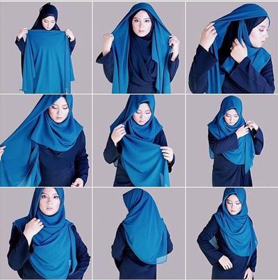 Hijab Syar'i Double untuk ke Acara Formal