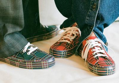 Vans Plaid Lampin Sneakers
