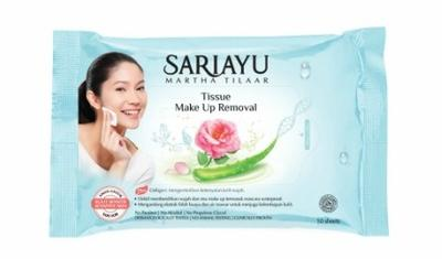 Sariayu Tissue Make Up Removal