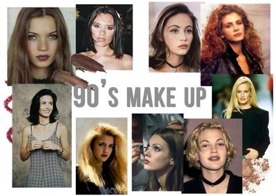 Ini Trend Makeup yang Pernah Hits di Tahun 90an, Berani Coba?