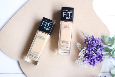 1. Maybelline Fit Me Foundation