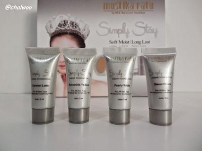 Mustika Ratu Simply Stay Liquid Foundation