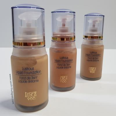 Inez Lustrous Liquid Foundation