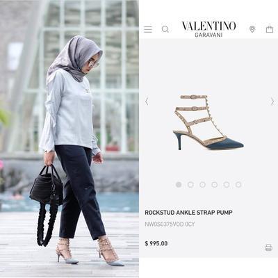 Mewah Banget, Ini Koleksi Sepatu Selebgram Hijab yang Harganya Selangit!