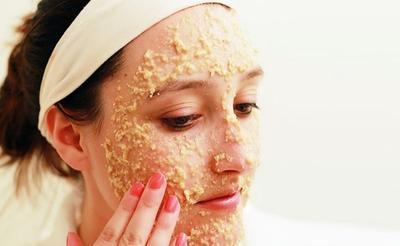 Masker Oatmeal