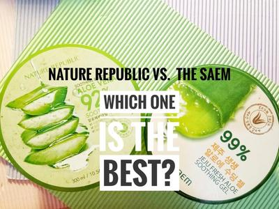 NATURE REPUBLIC VS THE SAEM, Lebih bagus mana ya?