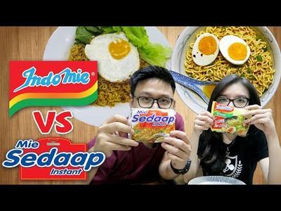 Indomie vs Mie Sedap, Menurut Kalian Lebih Enak yang Mana??