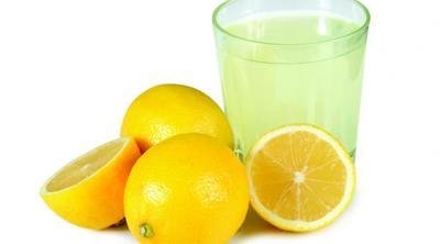 Minum Perasan Jeruk Lemon