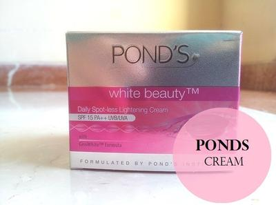 Pond's White Beauty Daily Spot-less Lightening Cream Seriusan Bikin Kulit Putih dan Cerah??