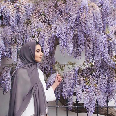 The Now Trendy Lavender Hijab