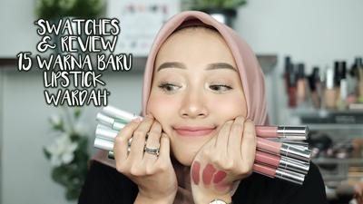 Rekomendasiin Warna Lip Cream Wardah untuk Kulit Sawo Matang Dong Girls..