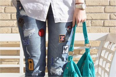 Punya Jeans Belel Jangan Dibuang Ladies, Kamu Bisa Modifikasi Seperti ini Nih!
