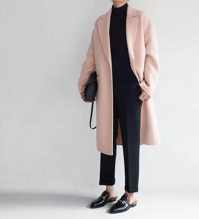 Long Blazer with Mules