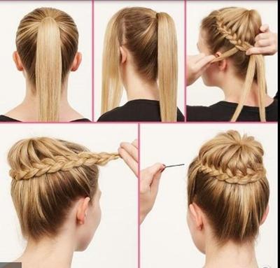 Buat Sanggulan dengan Rambut Asli
