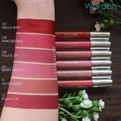Wardah lipstik exclusive matte lip cream