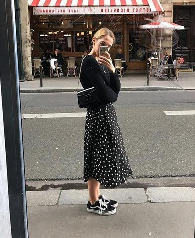 Vans with Skirt? It's Beautiful!
