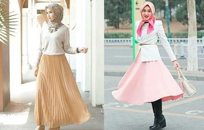 5 Tips Fashion untuk Hijabers Bertubuh Pendek agar Terlihat Tinggi Semampai