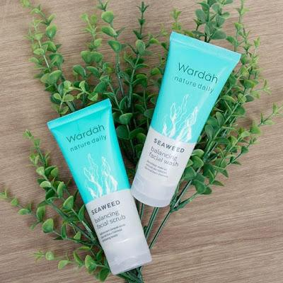Wardah Nature Daily Seaweed Balancing Facial Wash