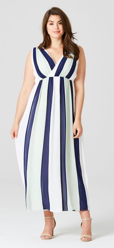 When in Doubt Wear Vertical Stripes